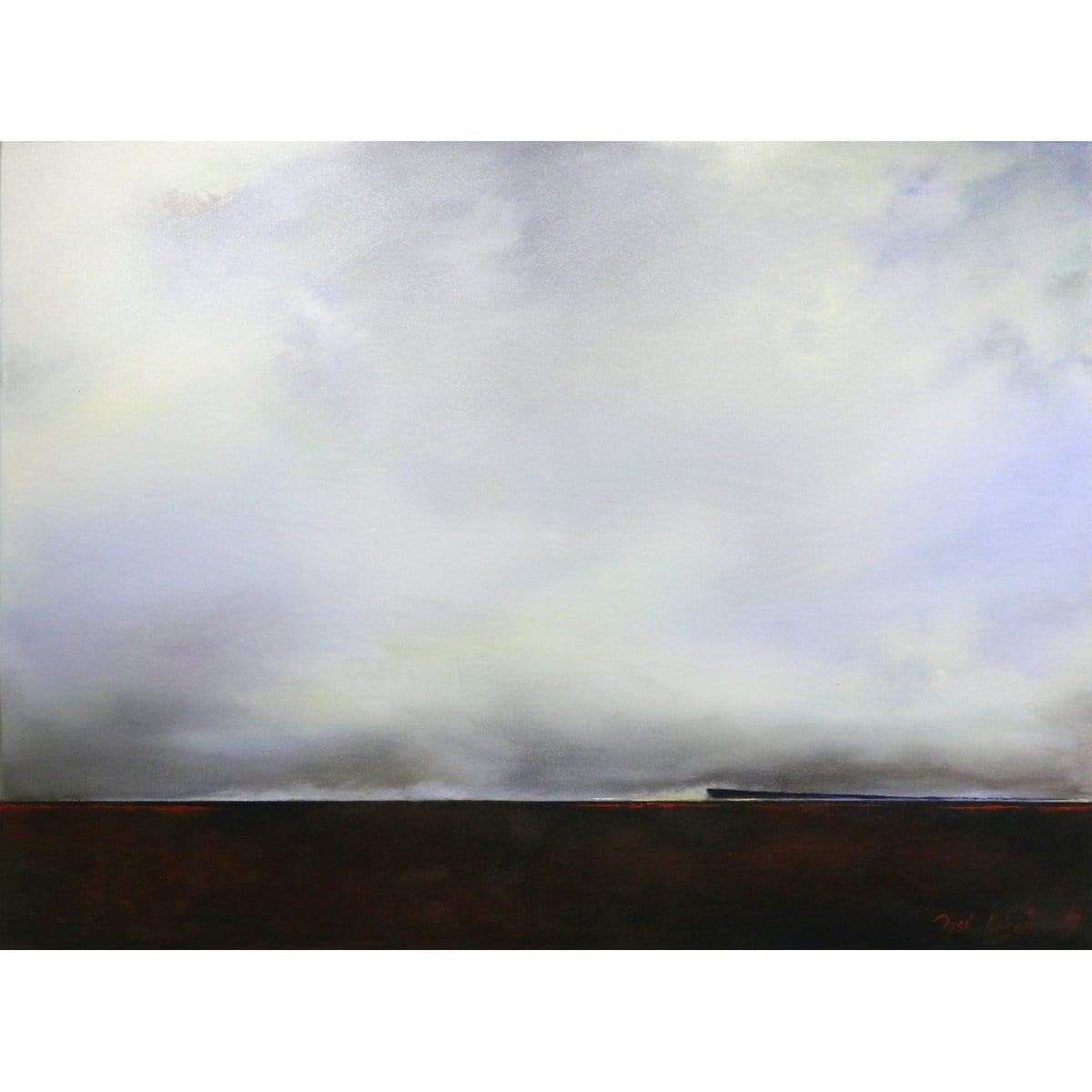 """Cloud Line""-Dyan Nelson-Renee Taylor Gallery"