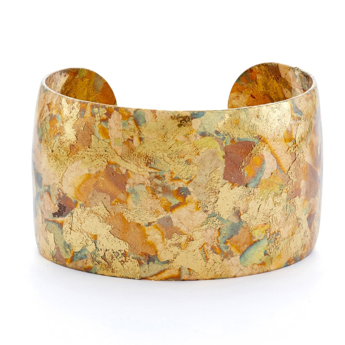 "Confetti 1.5"" Gold Cuff - AC129-Evocateur-Renee Taylor Gallery"