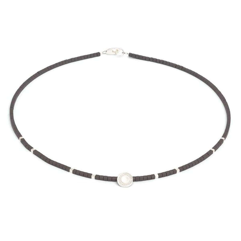 Conny Hematite Necklace - 83925274-Bernd Wolf-Renee Taylor Gallery