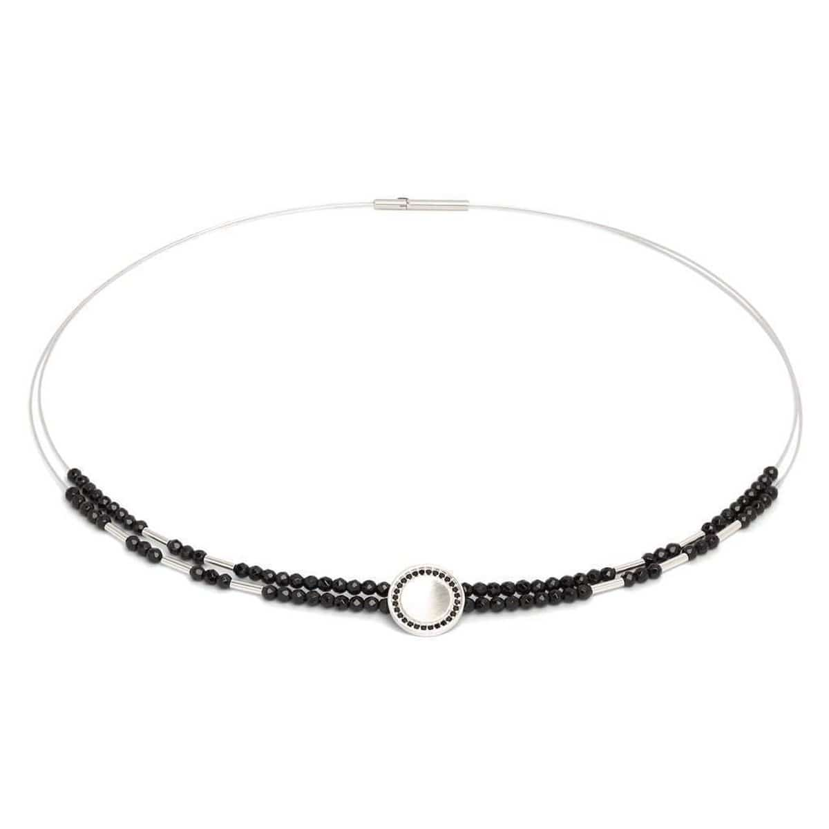 Corelli Black Spinel Necklace - 85221494-Bernd Wolf-Renee Taylor Gallery