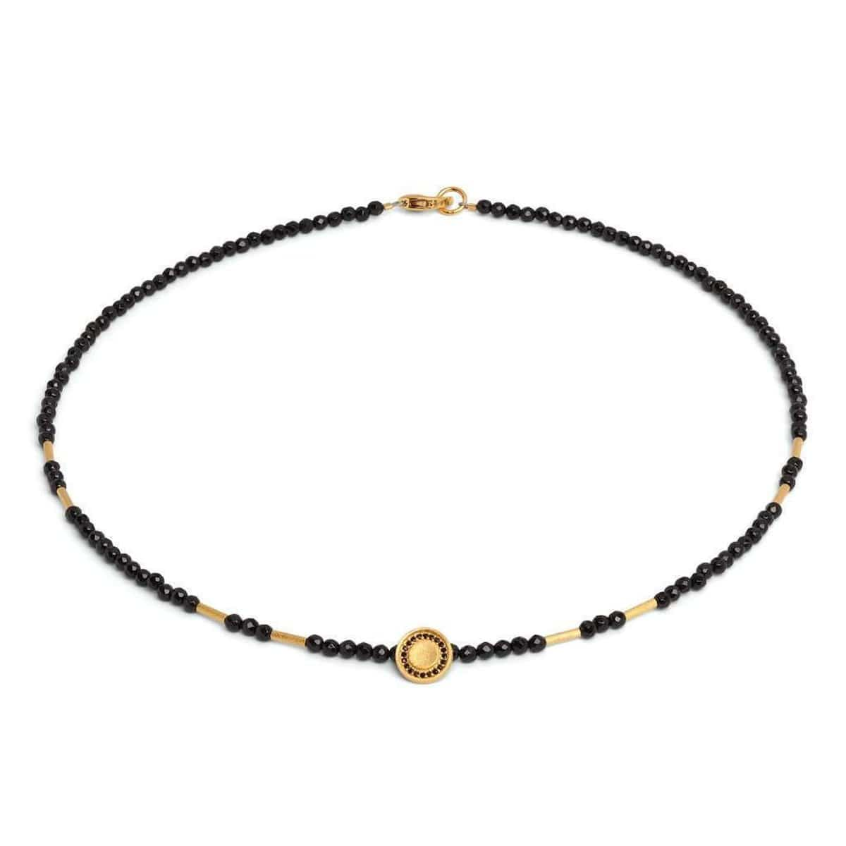 Cory Black Spinel Necklace - 83935496-Bernd Wolf-Renee Taylor Gallery