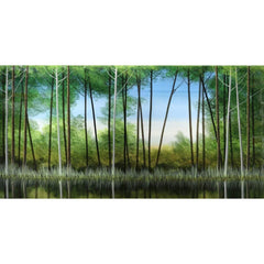 """Creekside Reflections""-Robert Charon-Renee Taylor Gallery"