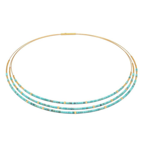 Cubaleni Turquoise Necklace - 83206256-Bernd Wolf-Renee Taylor Gallery