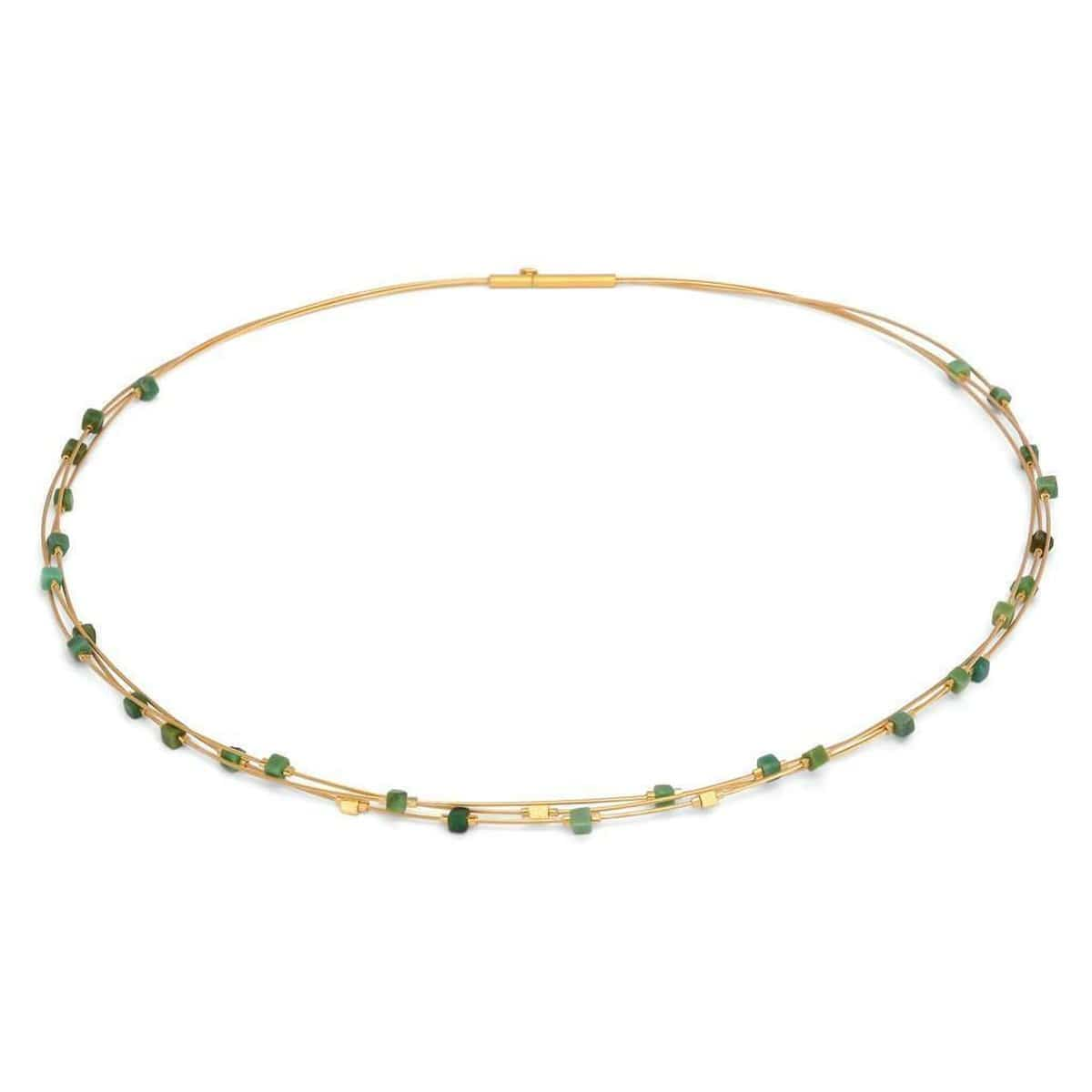Cubelito Green Turquoise Necklace - 85344356