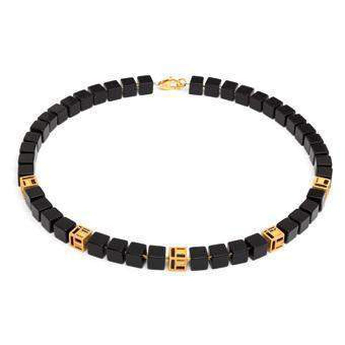 Cubian Onyx Necklace - 84483806-Bernd Wolf-Renee Taylor Gallery