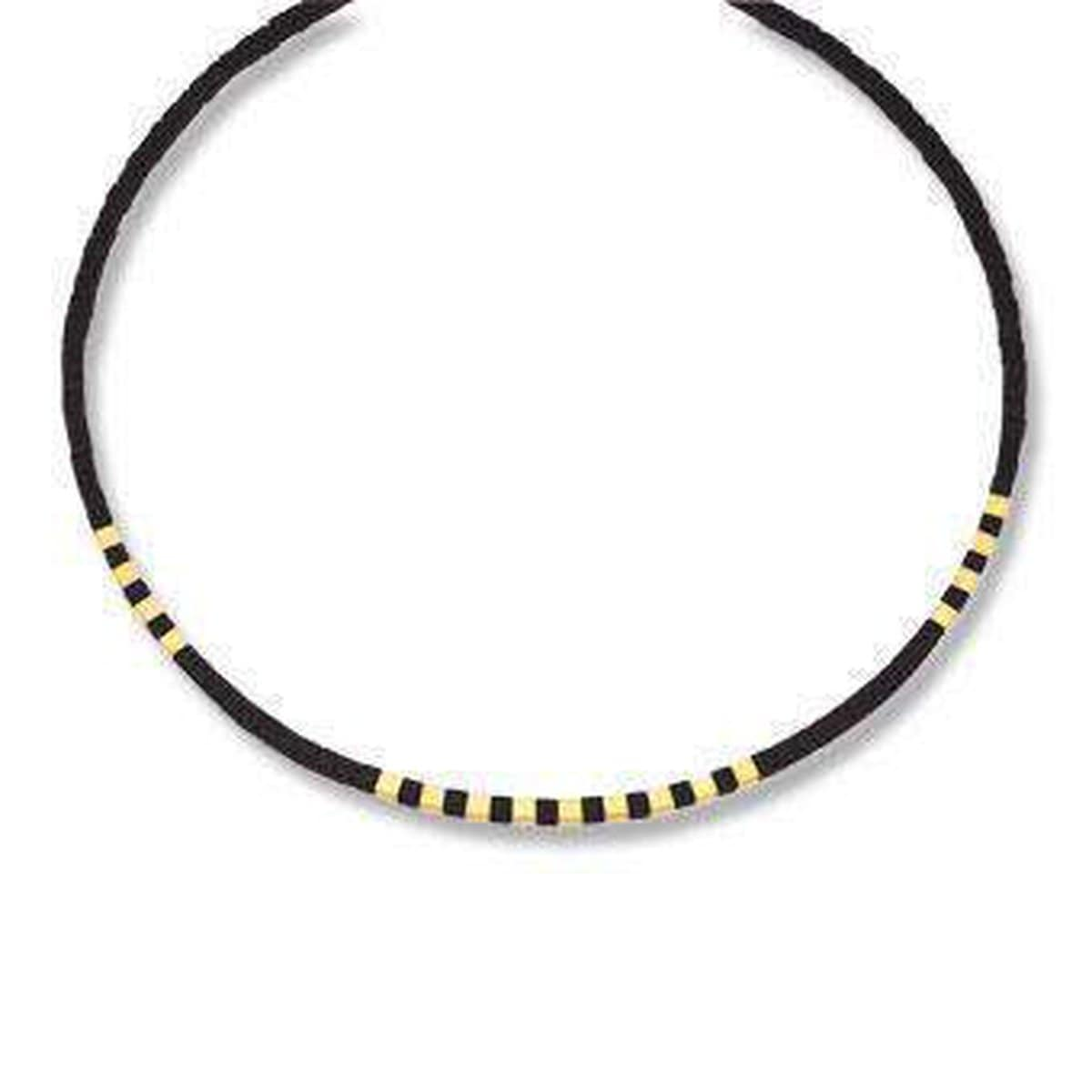 Cubis Onyx Necklace - 84446896-Bernd Wolf-Renee Taylor Gallery