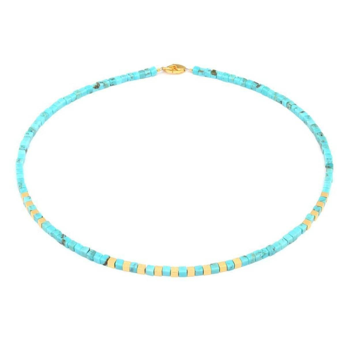 Cubis Turquoise Necklace - 84446256-Bernd Wolf-Renee Taylor Gallery