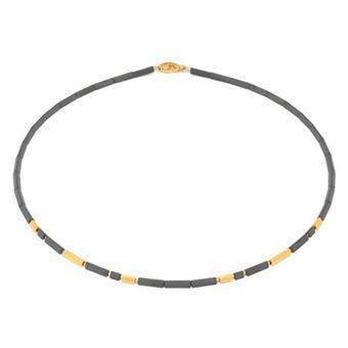 Daina Hematine Necklace - 85718276-Bernd Wolf-Renee Taylor Gallery