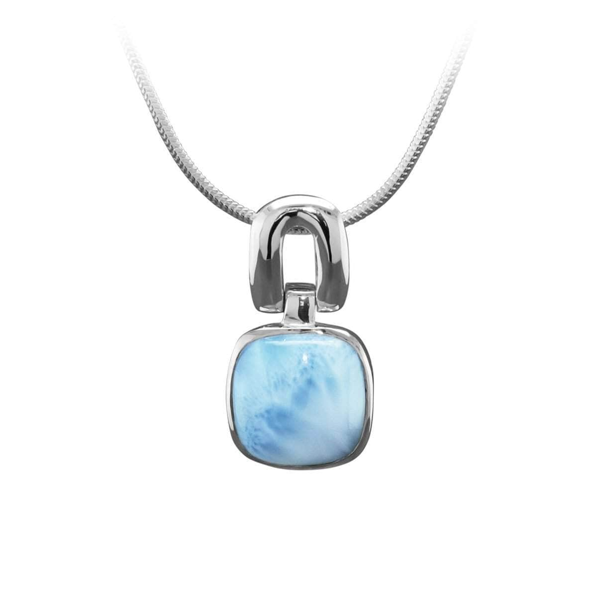 Del Mar Necklace - Ndelm00-00-Marahlago Larimar-Renee Taylor Gallery