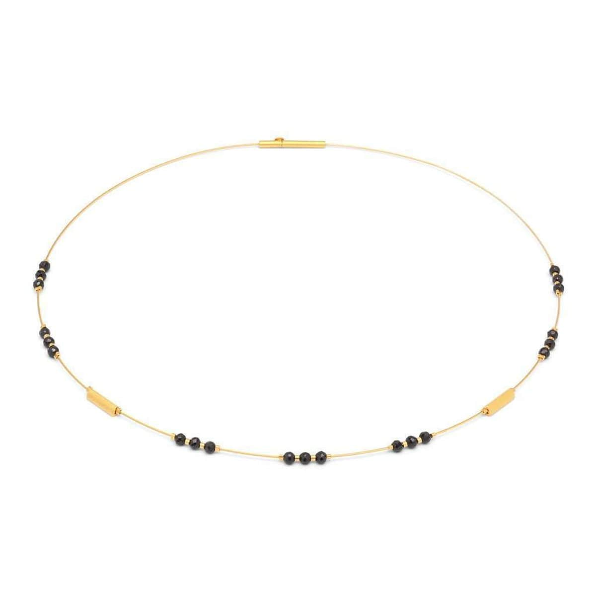 Demasta Black Spinel Necklace - 85160496-Bernd Wolf-Renee Taylor Gallery