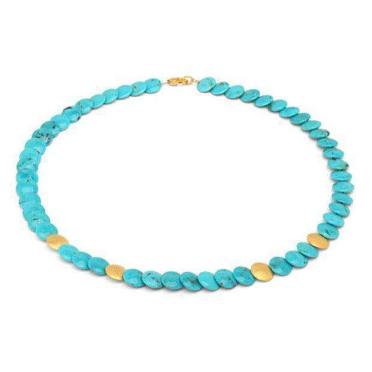 Discana Turquoise Necklace - 84861256-Bernd Wolf-Renee Taylor Gallery