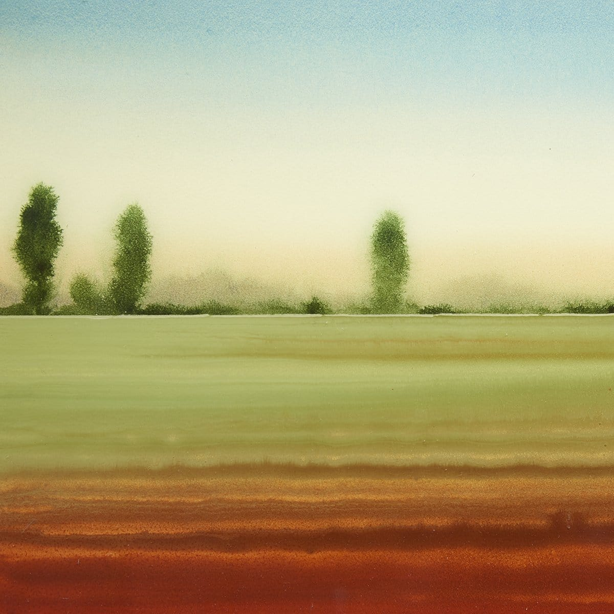 """Distant Trees""-Robert Charon-Renee Taylor Gallery"