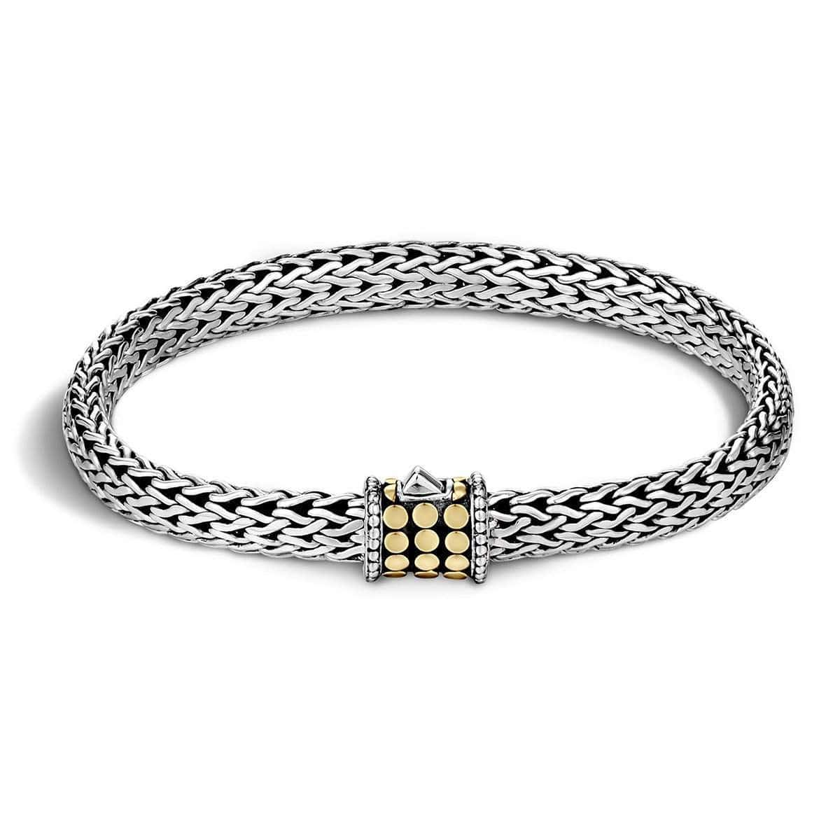 Dot Gold & Silver Small Bracelet - BB904GCA