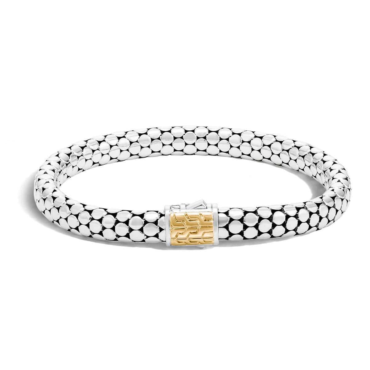 Dot Gold Silver Small Chain Bracelet - BZ3905