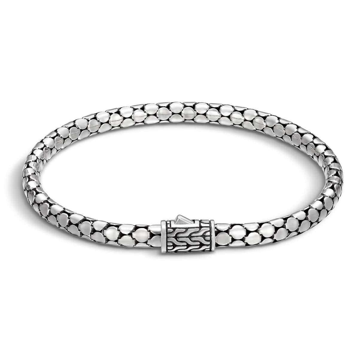 Dot Silver Small Chain Bracelet - BB34386-John Hardy-Renee Taylor Gallery