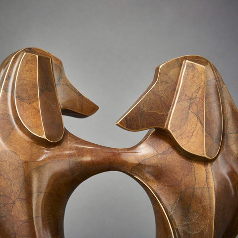 """Doxie Bump""-Laurel Peterson Gregory-Renee Taylor Gallery"