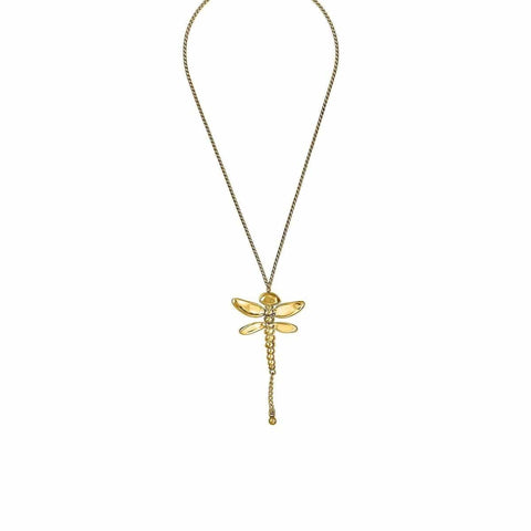 Dragonfly Necklace - COL0975ORO0000U-UNO de 50-Renee Taylor Gallery