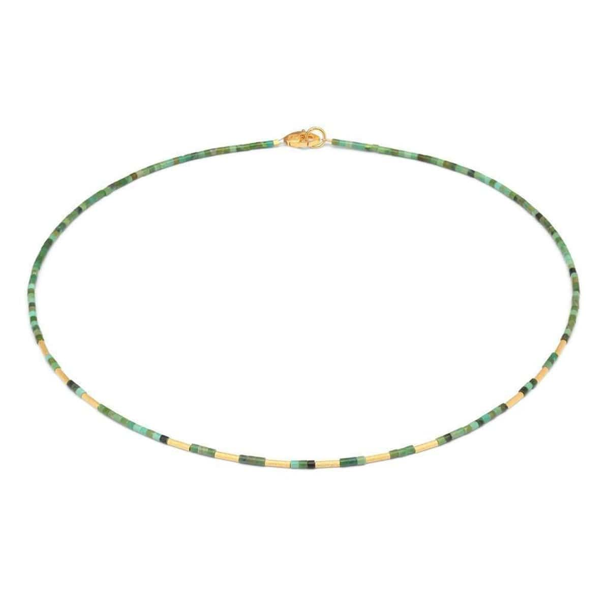 Dremiani Green Turquoise Necklace - 84453356-Bernd Wolf-Renee Taylor Gallery