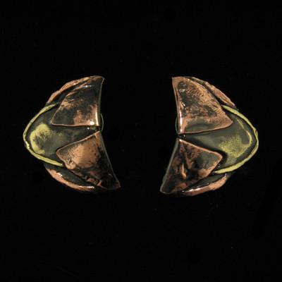 E002 Earrings-Creative Copper-Renee Taylor Gallery