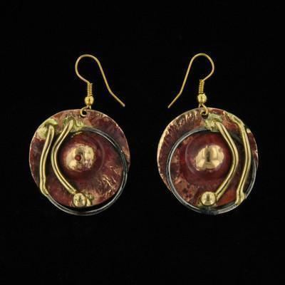 E086 Earrings-Creative Copper-Renee Taylor Gallery