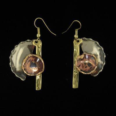 E087 Earrings - Creative Copper