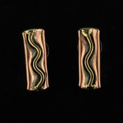 E107 Earrings-Creative Copper-Renee Taylor Gallery