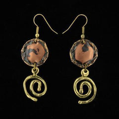 E109 Earrings-Creative Copper-Renee Taylor Gallery