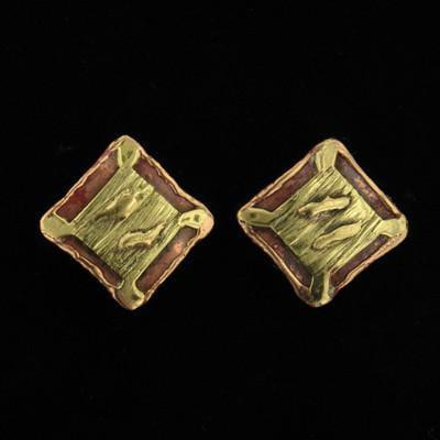 E166 Earrings-Creative Copper-Renee Taylor Gallery