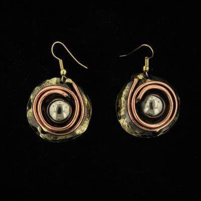 E179 Earrings-Creative Copper-Renee Taylor Gallery