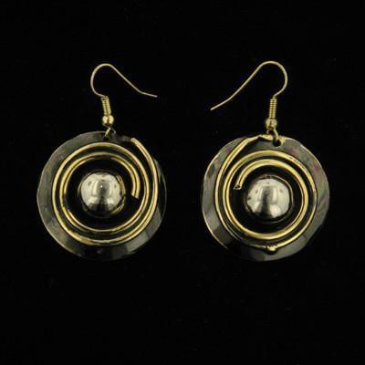 E184 Earrings-Creative Copper-Renee Taylor Gallery