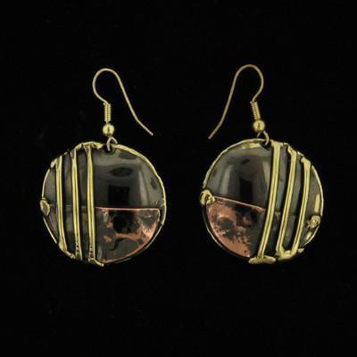 E190 Earrings-Creative Copper-Renee Taylor Gallery