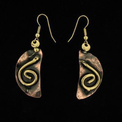 E196 Earrings-Creative Copper-Renee Taylor Gallery