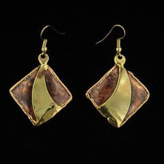 E226 Earrings-Creative Copper-Renee Taylor Gallery