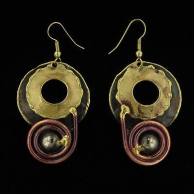E253 Earrings-Creative Copper-Renee Taylor Gallery