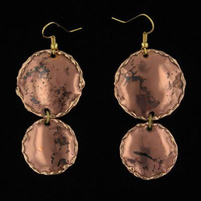 E290 Earrings-Creative Copper-Renee Taylor Gallery