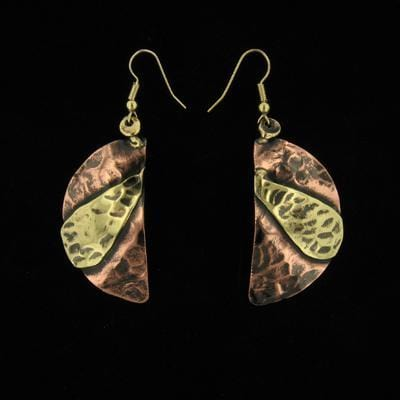 E293 Earrings-Creative Copper-Renee Taylor Gallery