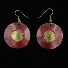 E337 Earrings-Creative Copper-Renee Taylor Gallery