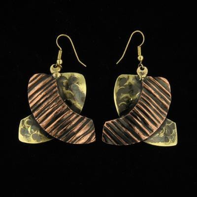 E540 Earrings-Creative Copper-Renee Taylor Gallery