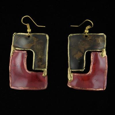 E801 Earrings-Creative Copper-Renee Taylor Gallery