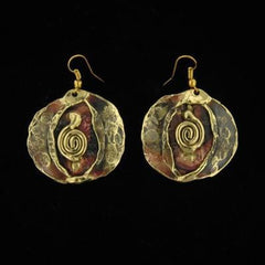 E877 Earrings-Creative Copper-Renee Taylor Gallery