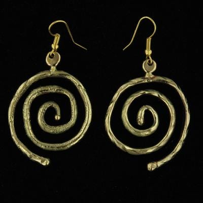 E923 Earrings - Creative Copper