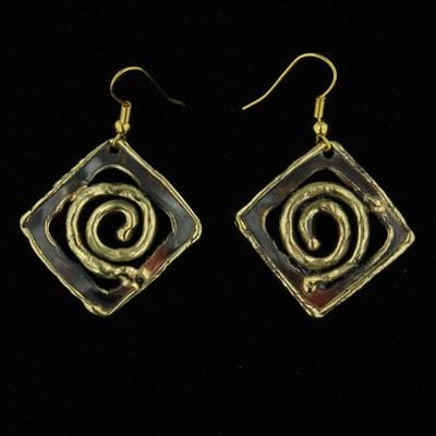 E924 Earrings-Creative Copper-Renee Taylor Gallery