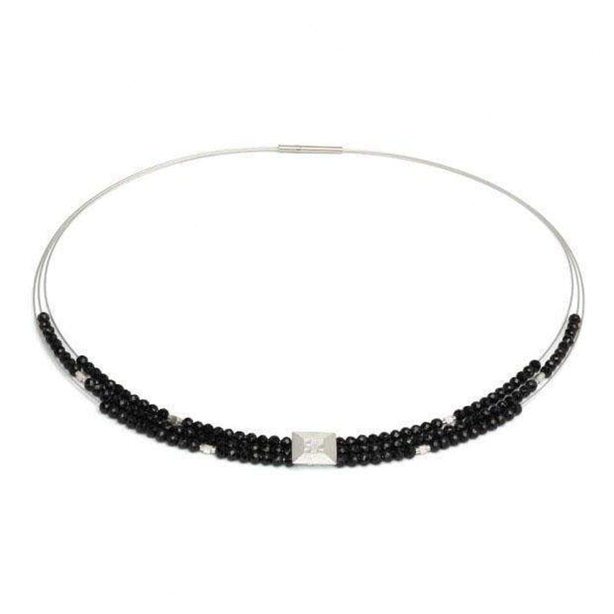 Efinia Black Spinel Necklace - 85090494-Bernd Wolf-Renee Taylor Gallery