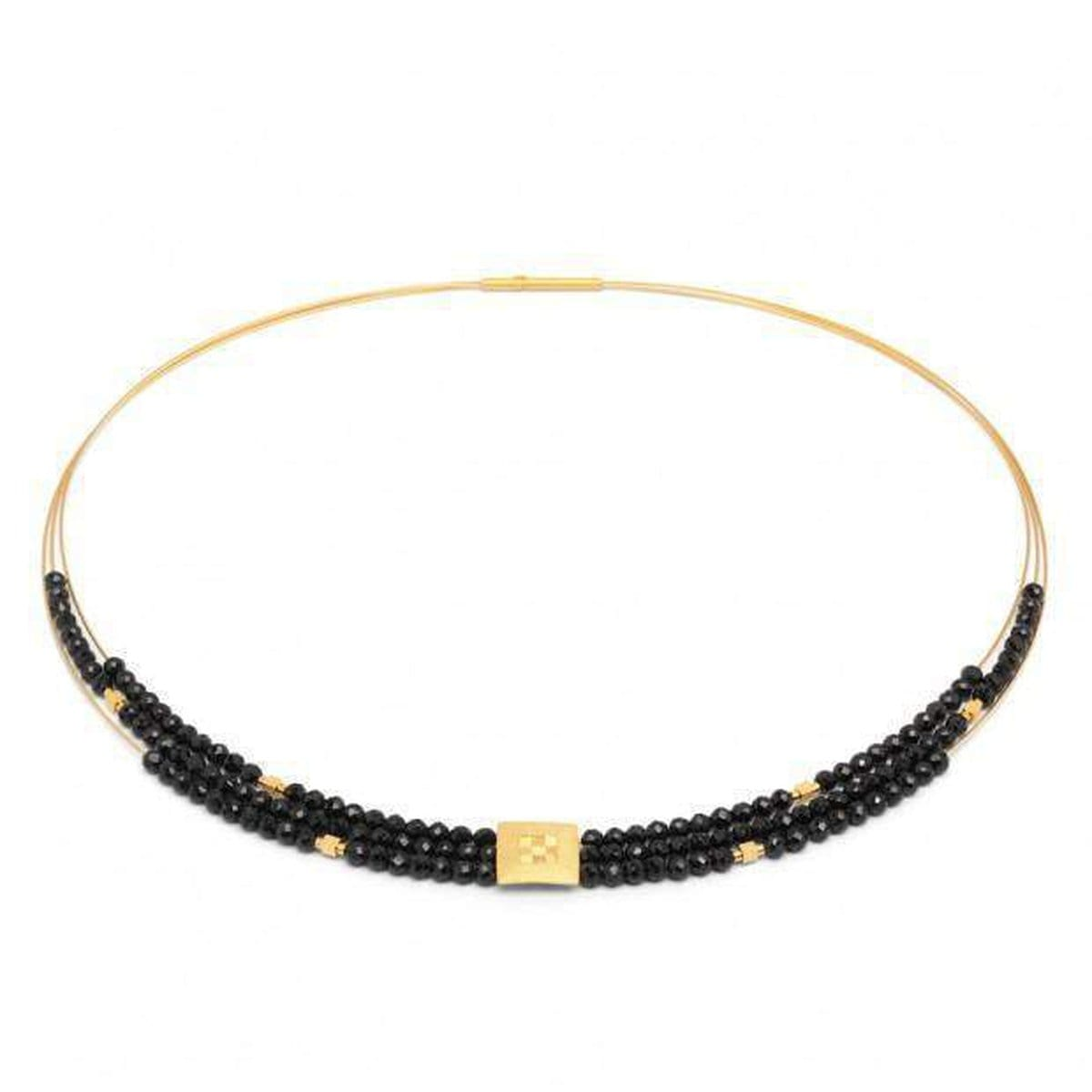 Efinia Black Spinel Necklace - 85090496-Bernd Wolf-Renee Taylor Gallery