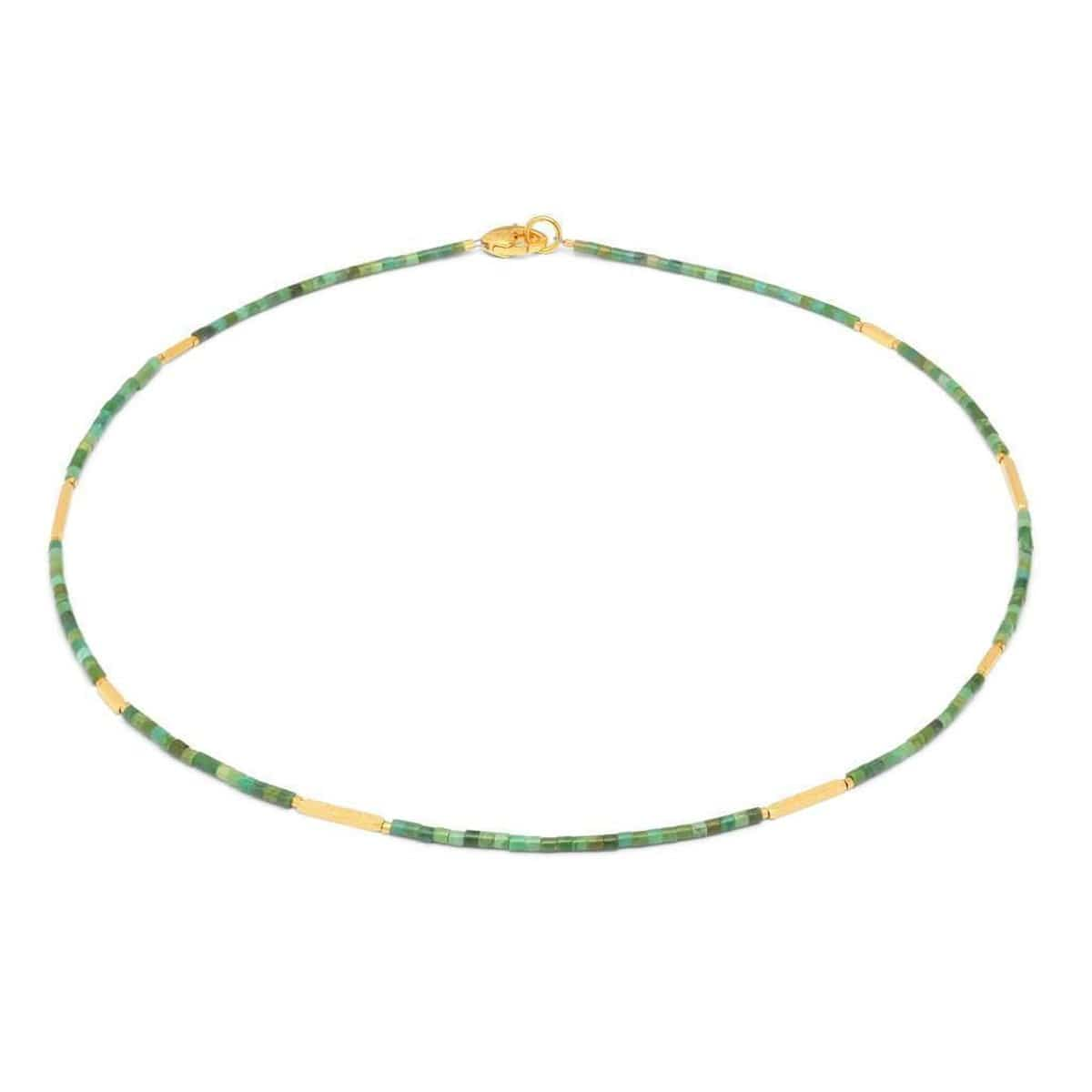 Facella Green Turquoise Necklace - 83924356-Bernd Wolf-Renee Taylor Gallery