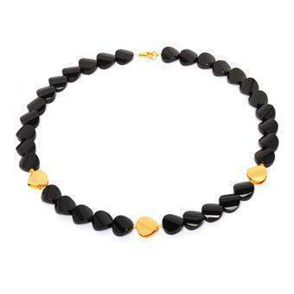 Fasenia Onyx Necklace - 81006806-Bernd Wolf-Renee Taylor Gallery