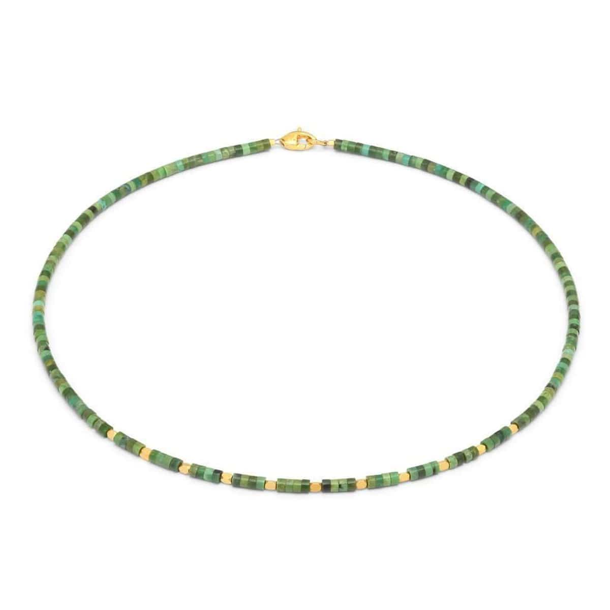 Feshi Green Turquoise Necklace - 85326356-Bernd Wolf-Renee Taylor Gallery