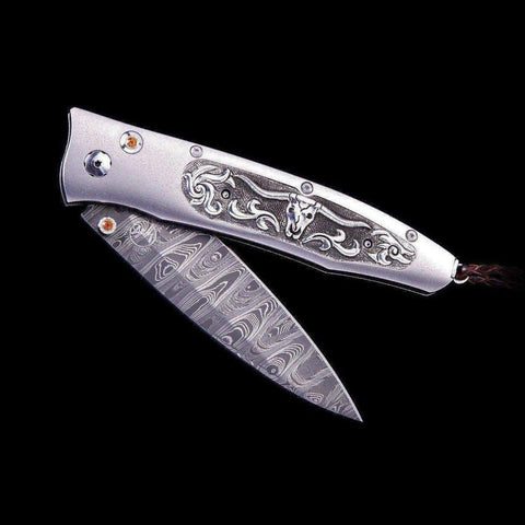 Gentac Longhorn Limited Edition Knife - B30 LONGHORN-William Henry-Renee Taylor Gallery