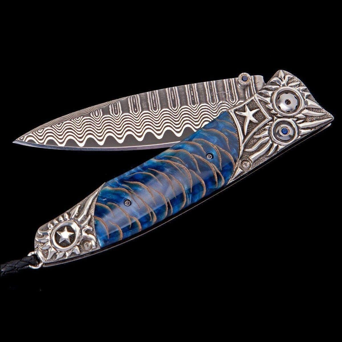 Gentac Silver Pine Limited Edition Knife - B30 SILVER PINE-William Henry-Renee Taylor Gallery