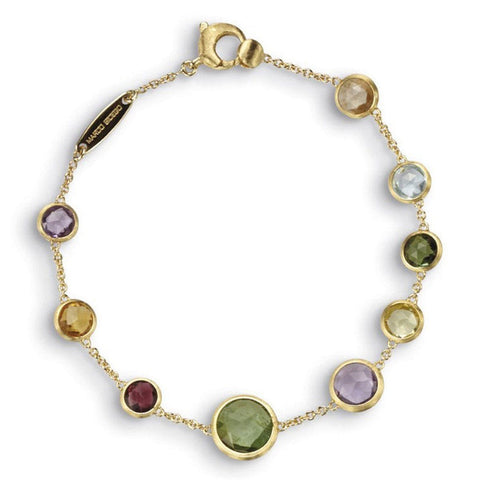 18K Jaipur Mixed Gemstone Bracelet - BB1304 MIX01 Y-Marco Bicego-Renee Taylor Gallery